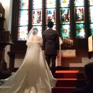 *弟の結婚式