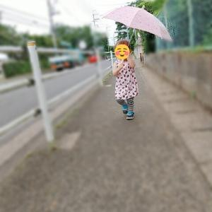 *1歳9か月 初めての傘