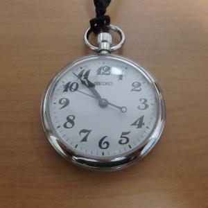 今日の時計:セイコー 鉄道時計