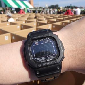 今日の時計:カシオ G-SHOCK