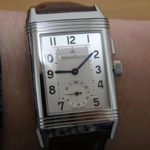 今日の時計:ジャガールクルト レベルソ・デュオ