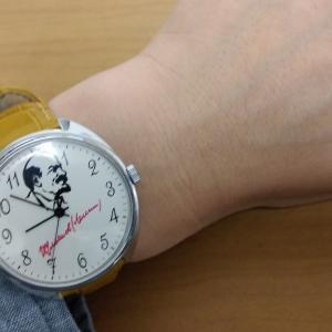 レーニンの手巻き時計 メーカー不明