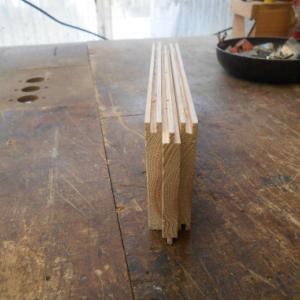 鍋蓋の かみ合わせの凸凹加工と仮組