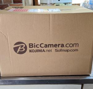 数日前に 安いからビックカメラで買っちゃった