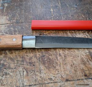 竹割包丁の鞘でも作ります