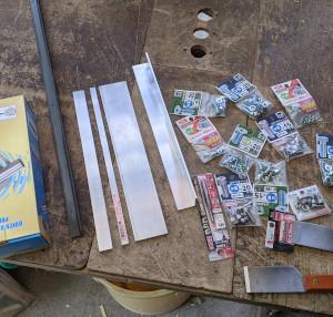 新しく竹のおもちゃ作りの材料^^