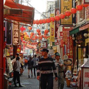 中華街で飲茶ランチ+最後のキノコ狩り