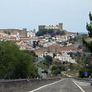 宮殿とアズレージョの旅-中世都市OBIDOS
