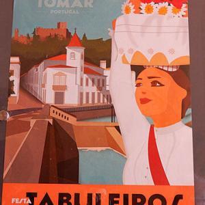 宮殿とアズレージョの旅ータブレイロスの祭り(1)