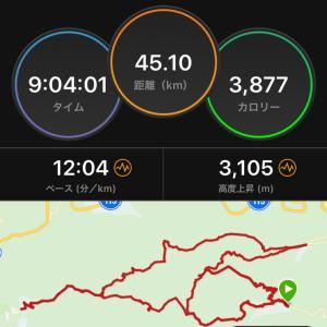 【遅報】OSJ安達太良山トレイル