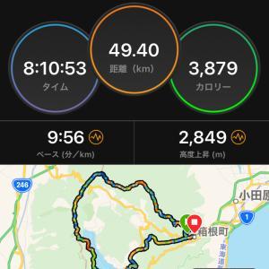 週末山練 箱根外輪山~♪♪