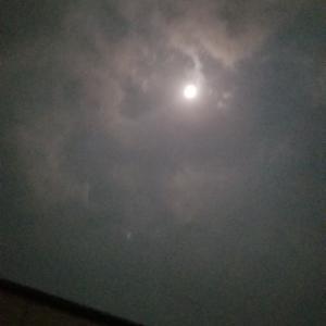 今年最後の月光浴❤❤