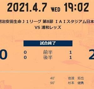 プレーバック:第8節ホーム浦和戦