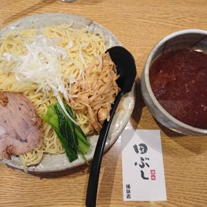 田ぶしのつけ麺(^-^)/
