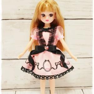一目惚れで購入したもの♪人形服作りに挑戦