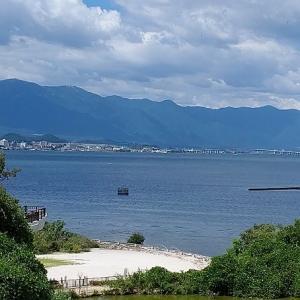 1日目、琵琶湖博物館♪