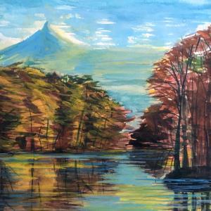 北海道 駒ヶ岳遠景
