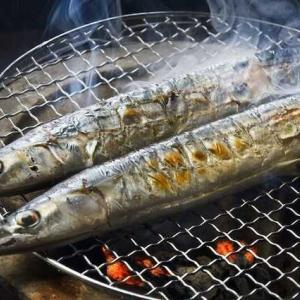 秋刀魚を焼きながら一句