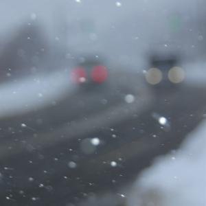 雪の国道453号