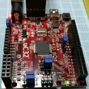 PIC32MX340F512H LEDチカ