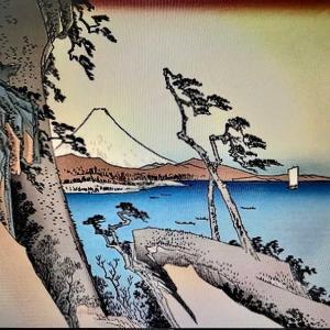 東海道五十三次 由井 薩埵嶺