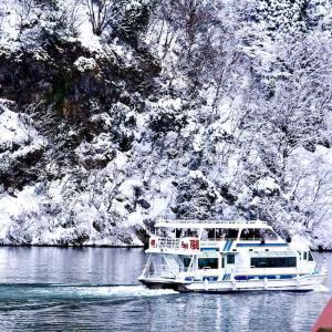 冬の北陸旅行   ~雪の庄川狭~