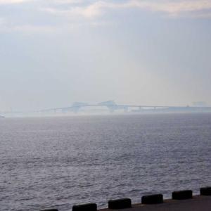 東京ゲートブリッジ  ダイヤモンド富士は見れず