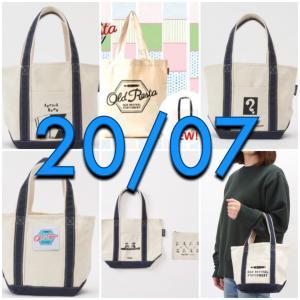 ★【2020/07】『Old Resta(オールドリスタ)』ミニトートバッグ【ムック本】