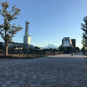 雲一つない快晴無風なか散歩へ(^^)/