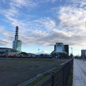 iPhone7カメラでは役不足の富士山(>_