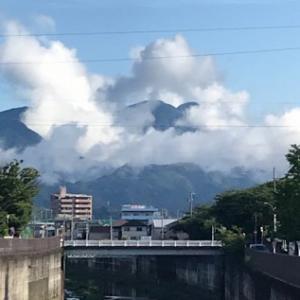 雨上がりで少し暑い朝!(^^)!