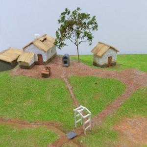 小さな丘の風景・初夏 1 今度は家を建てます