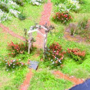 小さな丘の風景・初夏 2 庭づくり