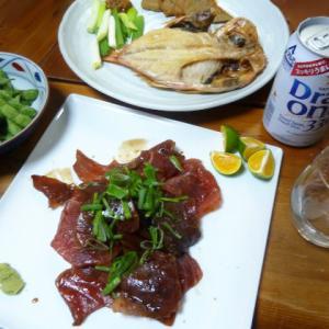 お魚の簡単料理  タイの昆布締め風 マグロのタルタルステーキ