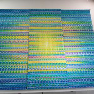 那須に行った 那須ブックセンター ギャラリーバーン・高久加奈子染色展