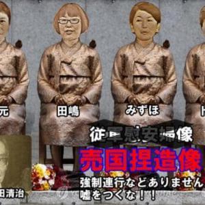 安倍首相謝罪像を撤去せず、韓国 「芸術作品」と園長