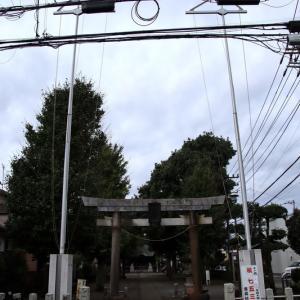 金森杉山神社  町田市金森