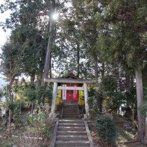 稲荷山稲荷神社  狭山市入間川