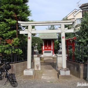 宿河原稲荷神社 狛江市駒井町
