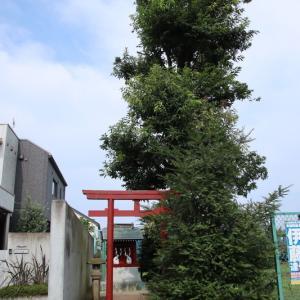 稲荷神社  狛江市西野川