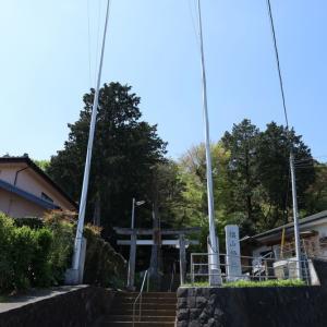 椙山神社(下三輪) 町田市三輪町