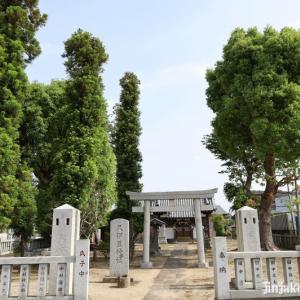 伊原久伊豆神社    越谷市市川柳町
