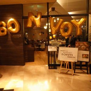 【Marriott)プラチナ万歳! 月に1度、1時間の貴重な宴 Bonvoy MembersDay コートヤード新大阪ST