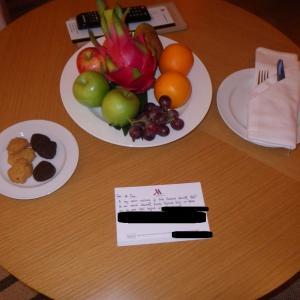 【コタキナバル】②コタキナバル空港~マリオットホテル到着 ルームアップグレードの理由