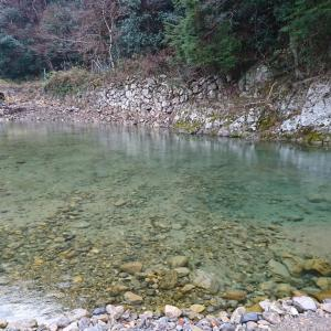 小柿渓谷放流釣り場に行ってきました