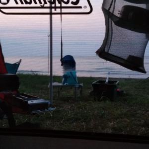 2019年お盆3泊キャンプ サイトは海が目の前!石川県 見附島シーサイドキャンプ場②
