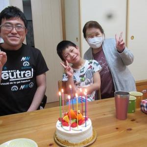 8歳のお誕生日 おめでとう!!