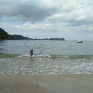 今年はキャンプではなく、ホテル泊で海水浴!in島根②