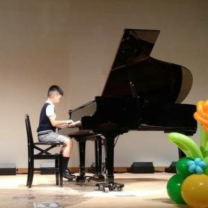 ピアノ発表会 小3 アイネクライネナハトムジーク