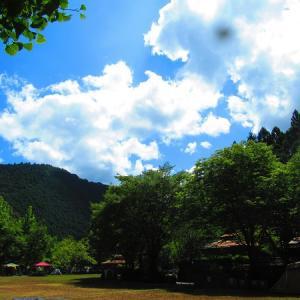 夏の終わりに…川遊びキャンプ~!お次は和歌山~川湯野営場木魂の里~①